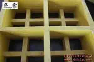 装饰材料:东泰玻璃钢洗车房格栅38mm尺寸优质可供验货
