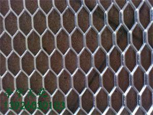 拉网板金属吊顶 铝合金网板隔断 外墙装饰用铝网格板