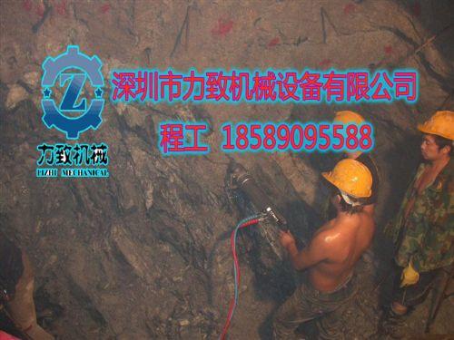 重晶石矿开采不用爆破用什么设备