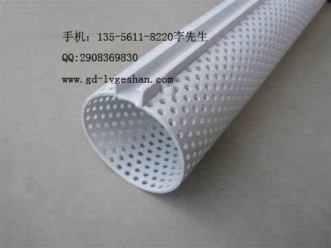 广东铝合金吊顶厂家专业定做各种规格口径冲孔铝圆管天花O型圆通
