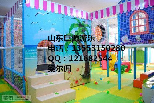 淘气堡设备大型儿童游乐场室内设备