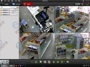 商铺联网报警中心-视频联网报警系统