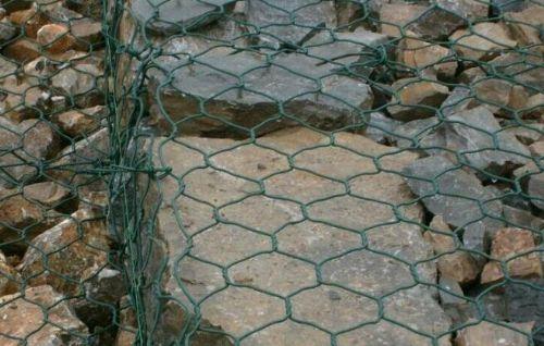 绿格网垫_格宾护垫_铅丝笼垫_护坡护脚格宾护垫【金照】