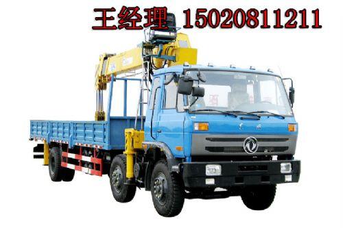 山东6.3吨东风随车吊 6.3吨随车起重机东风6x2