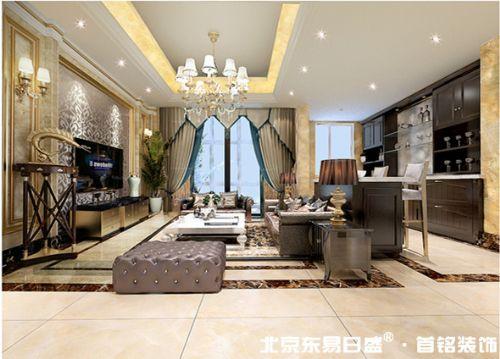 北京东易日盛首铭装饰免费提供兴进上郡案例