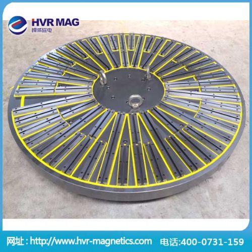CNC加工用电永磁吸盘,圆形永磁吸盘