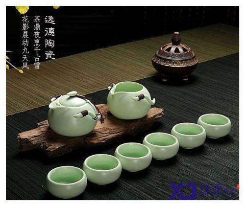 供应手工制作茶具 骨瓷功夫茶具套装定制