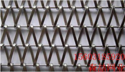 链板网带不锈钢链板金属输送链地板网带