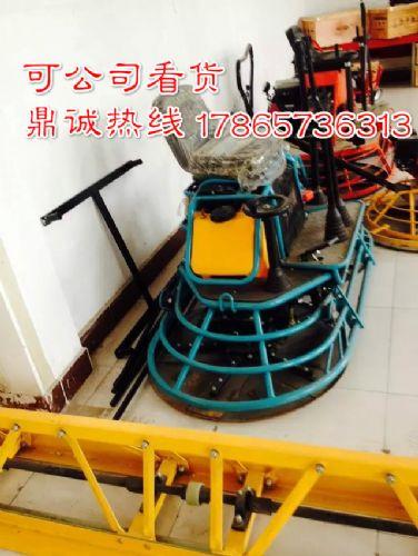 安徽黄山驾驶式水泥地面汽油抹光机双圆盘地面整平机