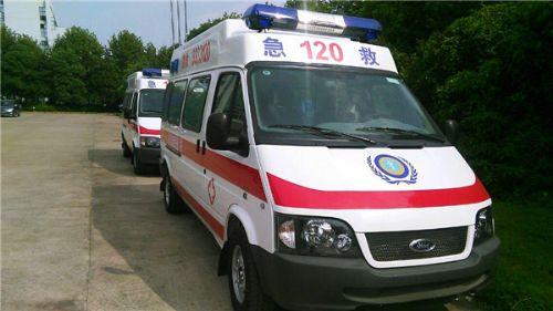 全顺转运型救护车图片