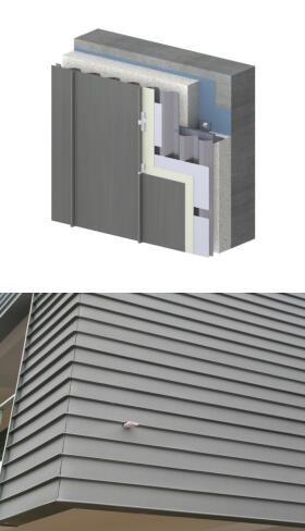 金属屋面 墙面系统 直立锁边系统