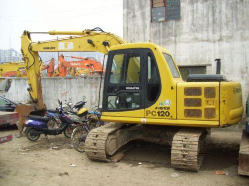 二手小松130挖掘机新款液压履带-二手120钩机价格