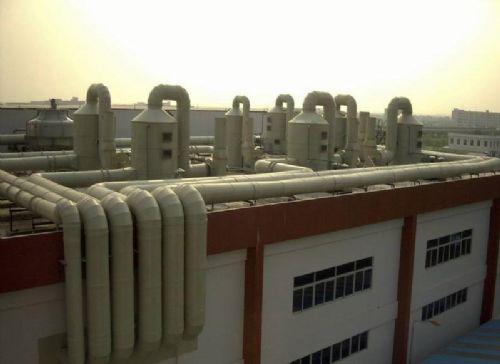 昆山格瑞雅环保废气处理洗涤塔净化塔