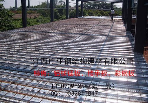 供应南昌yx51-250-750镀锌楼承板