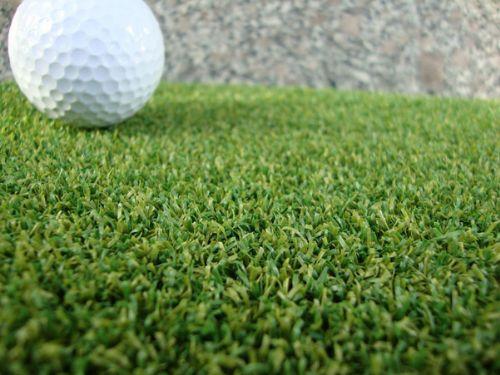 厂房阳台高尔夫练习场人工草坪施工建造