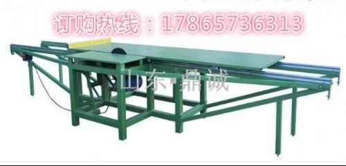 河南安阳木工机械简易推台锯光滑版裁板锯