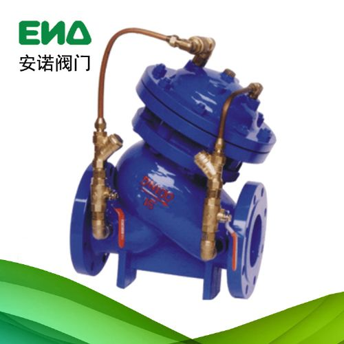 JD745X多功能水泵控制阀 阻力倒流防止器 水力控制阀 温州厂