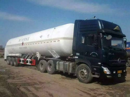 11年LNG51.53立方运输罐车  二手石油液化气运输车
