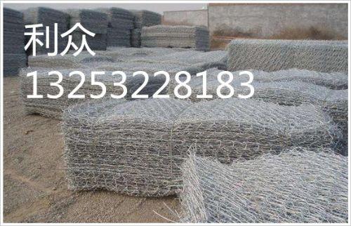 青海黄河治理铅丝石笼 生态护坡铅丝石笼网箱 镀锌铝合金铅丝石笼网
