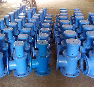 J744X、J644X液压、气动角式快开排泥阀