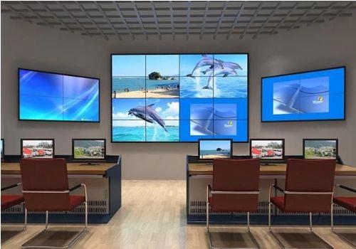 山东超窄边DID拼接大屏幕显示屏,烟台市拼接屏方案设计