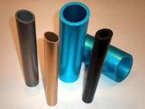 供应6063铝管,彩色拉花铝管,无缝厚壁铝管
