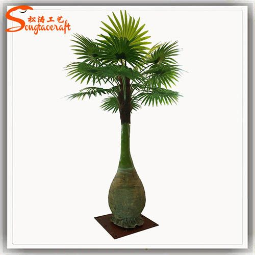仿真植物酒椰子树 仿真椰子树 小 仿真大王椰子树 仿真塑料椰子树