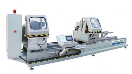 高精度铝型材双角数控精密切割锯床【进口硬质合金锯片】