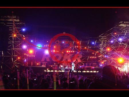济南舞台灯光音响设备