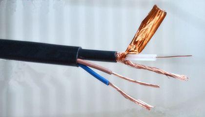 SYV视频线SYV同轴电线电缆结构