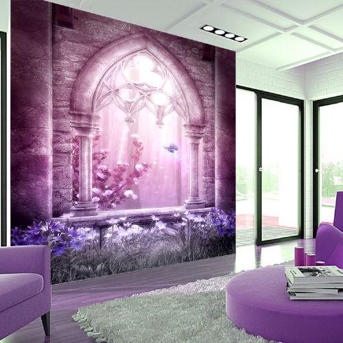 无缝墙布欧式客厅背景墙玄关走廊个性定制