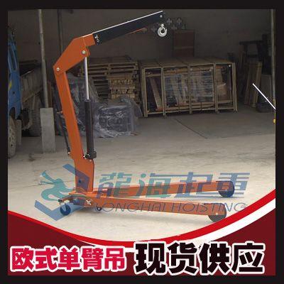 欧式重型单臂吊现货【用于仓库/物流的吊运】龙海起重