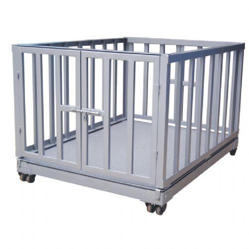 供应牲畜秤 动物秤厂家 带围栏的动物秤