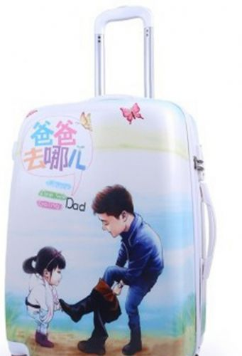 上海pc旅行箱喷绘印刷机 打印机价格