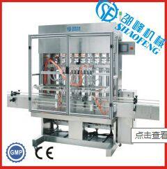 厂家供应10B型 自产全自动膏体 液体灌装机设备