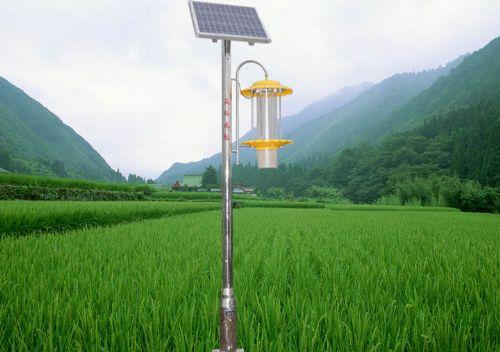 购买立杆式太阳能杀虫灯黄色频振式杀虫灯公司郑州锐农科技