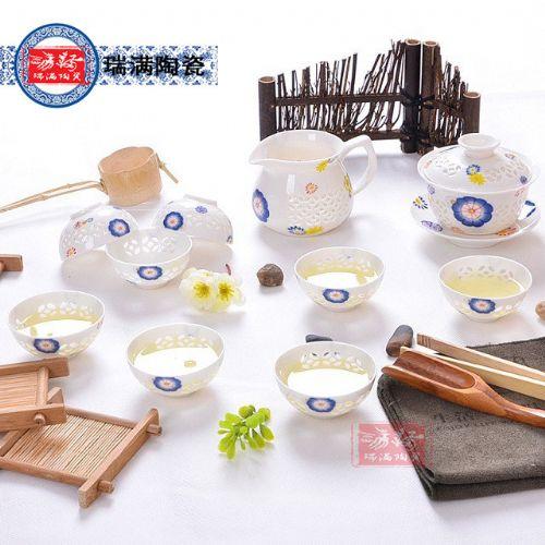 品牌陶瓷茶具茶杯定做