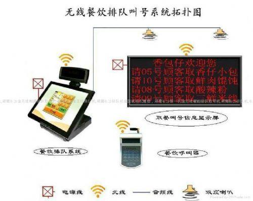湖北省武汉市新款呼叫器+餐饮叫号器排队叫号机