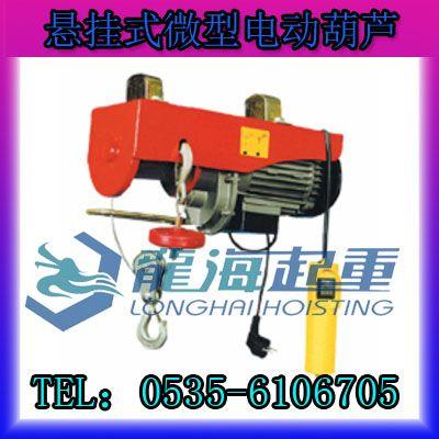 1200kg微型悬挂式电动葫芦【悬挂条幅广告电动葫芦】报价