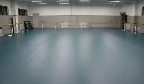 济南健身房专用地板平面地胶 幼儿园 私教区 安全地板 pvc运动
