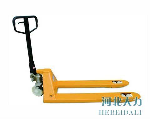 厂家可定制2.5吨手动液压叉车 地牛液压搬运车
