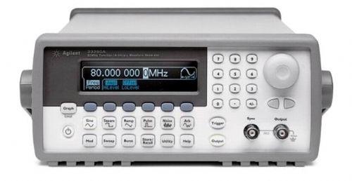 函数信号发生器Agilent 33220A、回购