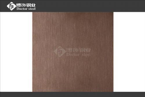 不锈钢古铜磨砂板