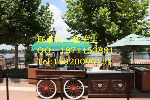 移动售货亭 木质售货亭 户外售货亭