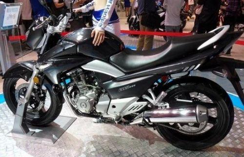 豪爵铃木骊驰GW250摩托车高清图片