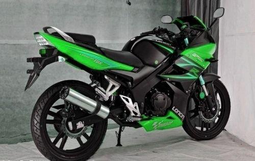 隆鑫GP150摩托车