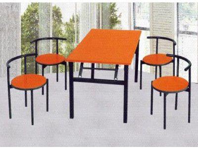 高档快餐系桌椅c-042