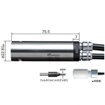 AM-310R中西气动马达AM-310R