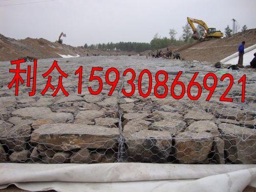 四川河道护坡防洪镀锌铅丝笼 镀高尔凡pvc铅丝石笼 铅丝网箱护河