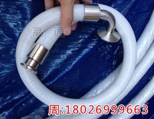 灌装机专用医用级硅胶软管跟进口编织硅胶管